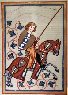 Knight Riding His Horse